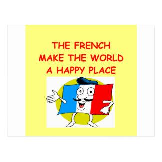 el francés postales