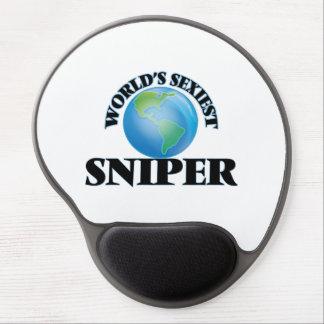 El francotirador más atractivo del mundo alfombrilla de ratón con gel