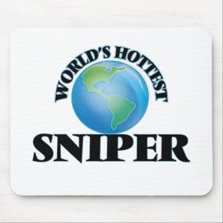 El francotirador más caliente del mundo tapetes de ratones