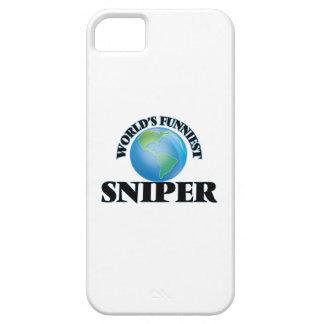 El francotirador más divertido del mundo iPhone 5 carcasas