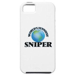 El francotirador más divertido del mundo iPhone 5 Case-Mate carcasas