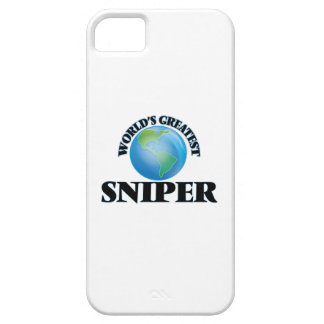 El francotirador más grande del mundo iPhone 5 Case-Mate funda