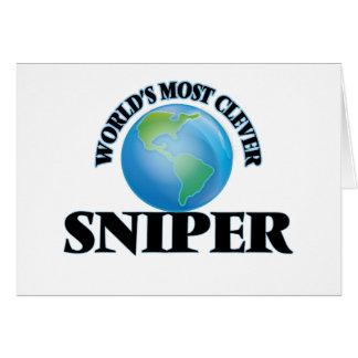 El francotirador más listo del mundo tarjeta pequeña