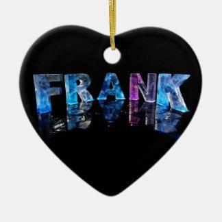 El Frank conocido en 3D se enciende (la Adorno De Cerámica En Forma De Corazón