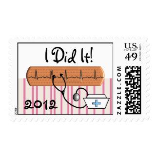 ¡El franqueo 2012 de la graduación de la enfermera Sellos Postales
