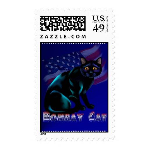 El franqueo del gato de Bombay