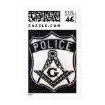El franqueo masónico del policía