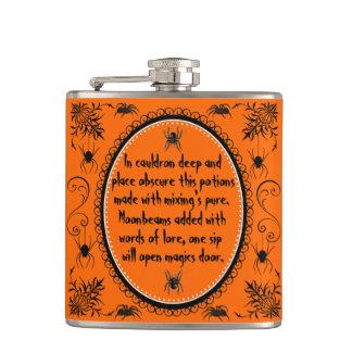 El frasco de Halloween, modifica esto para requisi Petaca