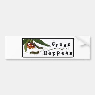 El Frass sucede pegatina para el parachoques Pegatina De Parachoque