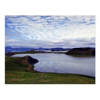 El Fratercula Arctica, Islandia Postal