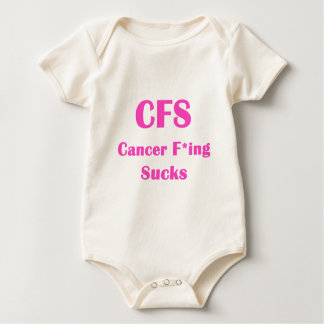 El Freaking del cáncer chupa… el CFS Traje De Bebé