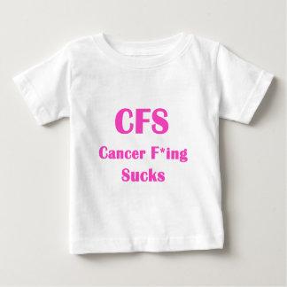 El Freaking del cáncer chupa… el CFS T-shirts