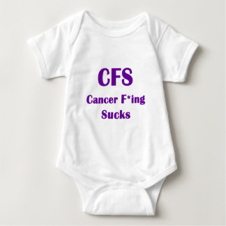 El Freaking del cáncer chupa el CFS T Shirts