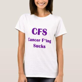 El Freaking del cáncer chupa el CFS Playera