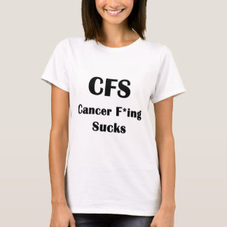 El Freaking del cáncer chupa Playera