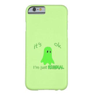 El frecuentar de la residual - fantasma verde funda de iPhone 6 barely there