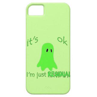 El frecuentar de la residual - fantasma verde iPhone 5 Case-Mate protector