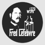 El Fredfather Pegatinas Redondas