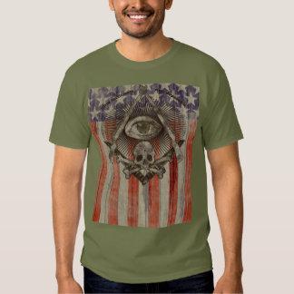 El Freemason de Hiram Abiff con el americano Poleras