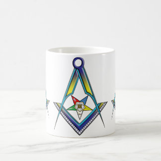 El Freemason de OES Taza Básica Blanca