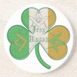 El Freemason irlandés Posavasos Cerveza
