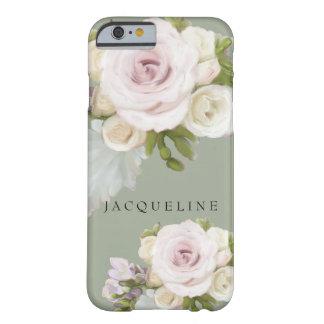 El Freesia floral en colores pastel de los rosas Funda Para iPhone 6 Barely There
