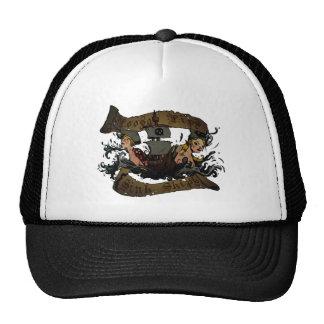 El fregadero flojo de los labios envía el gorra