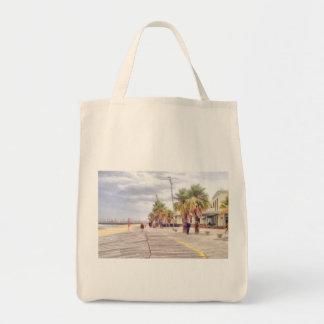 El frente al mar bolsa tela para la compra