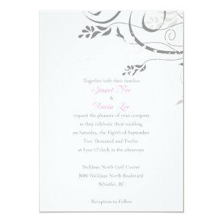 El frente de Janet Invitación 12,7 X 17,8 Cm