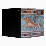 """El fresco del Toreador, palacio de Knossos, Creta Carpeta 1 1/2"""""""