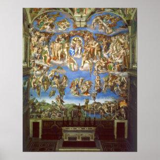 El fresco pasado del juicio de Miguel Ángel Póster