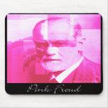 El Freud rosado original Mousepad Tapetes De Ratón