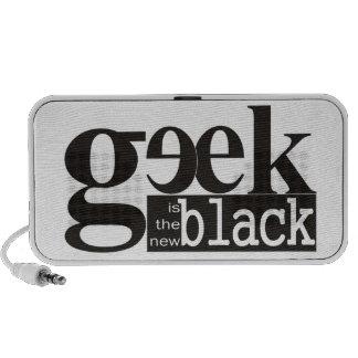 El friki es el nuevo negro iPod altavoces