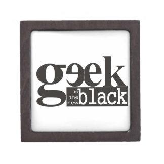 El friki es el nuevo negro caja de regalo de calidad