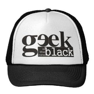 El friki es el nuevo negro gorros bordados