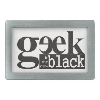 El friki es el nuevo negro hebillas cinturon