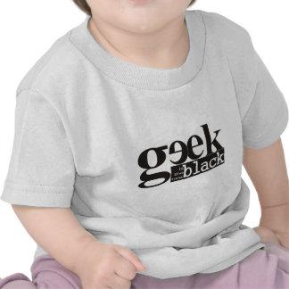 El friki es el nuevo negro camisetas