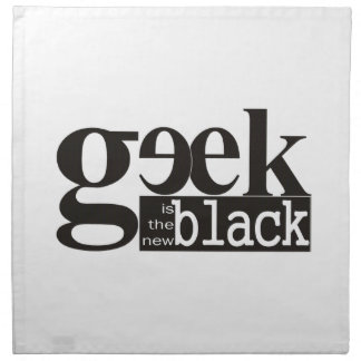 El friki es el nuevo negro servilletas de papel