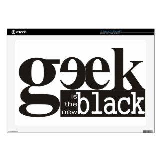 El friki es el nuevo negro skins para 43,2cm portátil