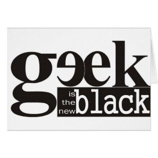 El friki es el nuevo negro felicitación