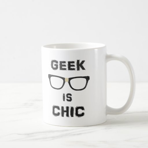 El friki es elegante taza