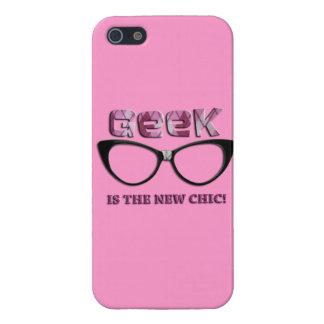El friki es la nueva moda iPhone 5 protectores