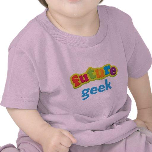 El friki futuro embroma el regalo camiseta