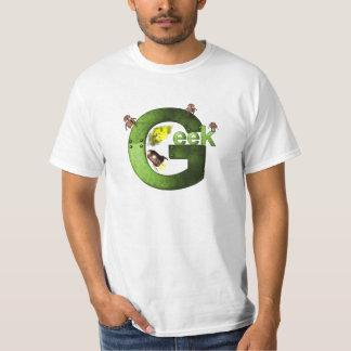 El friki verde playera