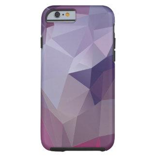 El frío colorea arte abstracto de la pirámide funda de iPhone 6 tough