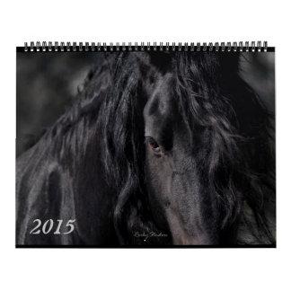 El frisio empluma 2015 calendarios