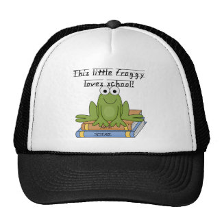 El Froggy ama las camisetas y los regalos de la es Gorras De Camionero