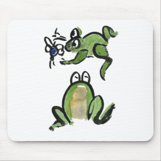 El Froggy consigue un pedazo comer Alfombrillas De Ratones