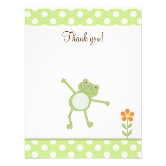 El Froggy lindo del salto de la pídola le agradece Comunicados Personales