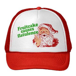 El Fruitcake causa flatulencia Gorro De Camionero